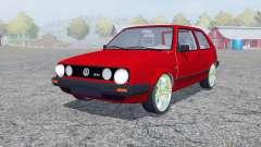 Volkswagen Golf GTI pour Farming Simulator 2013