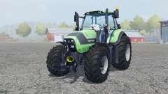 Deutz-Fahr Agrotron 6190 TTV front loader für Farming Simulator 2013