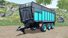 Joskin Drakkar 8600 blue and black für Farming Simulator 2017