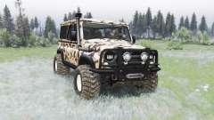 UAZ-3153 Trophy für Spin Tires