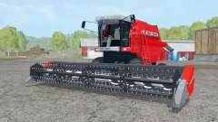 Massey Ferguson 34 with headers pour Farming Simulator 2015