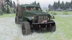 Dodge WC-53 Carryall (T214) 1942 pour Spin Tires