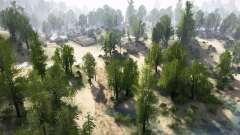 Cedar Highlands für MudRunner