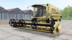 New Holland TF78 with header pour Farming Simulator 2017