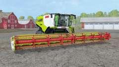 Claas Lexique 780 TerraTraꞔ pour Farming Simulator 2015