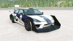 Hirochi SBR4 GT Widebody v1.1 für BeamNG Drive