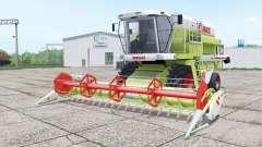 Claas Dominator 208 Mega and C 600 für Farming Simulator 2017
