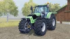 Deutz-Fahr 7250 TTV Agrotron added wheels pour Farming Simulator 2013
