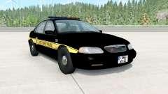 Ibishu Pessima 1996 East Coast Police pour BeamNG Drive