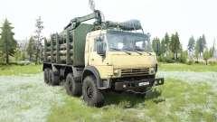 KamAZ-63501 8x8 für MudRunner