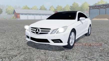 Mercedes-Benz E350 CDI (C207) 2009 pour Farming Simulator 2013