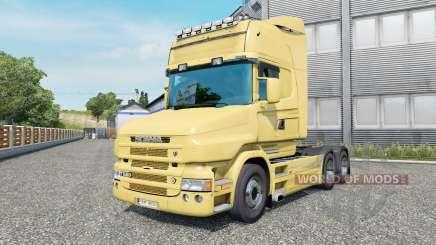 Scania T580 6x4 Topline v2.2.4 pour Euro Truck Simulator 2
