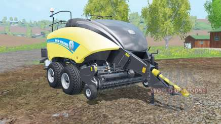 New Holland BigBaler 1290 new wheels pour Farming Simulator 2015