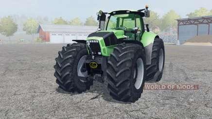 Deutz-Fahr Agrotron X 720 2012 front loader pour Farming Simulator 2013