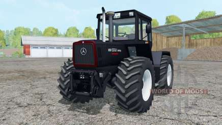 Mercedes-Benz Trac 1800 Intercooler Black Beauty pour Farming Simulator 2015