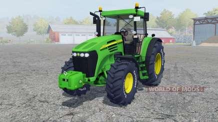 John Deere 7820 add wheels für Farming Simulator 2013
