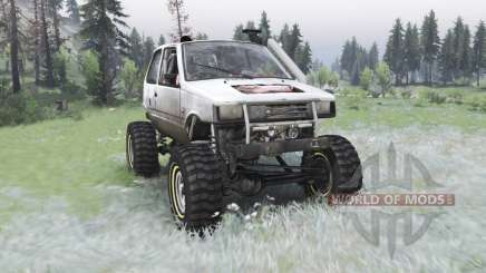 VAZ-1111 Oka off-road pour Spin Tires