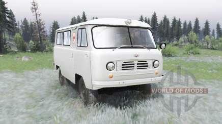 UAZ-450A 1957 pour Spin Tires