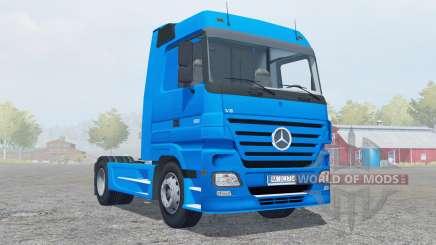 Mercedes-Benz Actros 1860 (MP2) 4x4 2005 pour Farming Simulator 2013