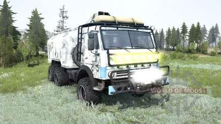 KamAZ-43114 pour MudRunner