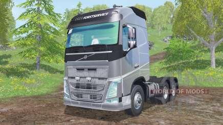 Volvo FH16 750 Globetrotter cab 2014 pour Farming Simulator 2015