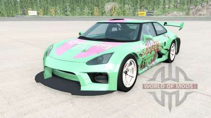 Hirochi SBR4 GT Widebody v1.2 pour BeamNG Drive