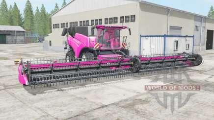 New Holland CR10.90 rose pink pour Farming Simulator 2017