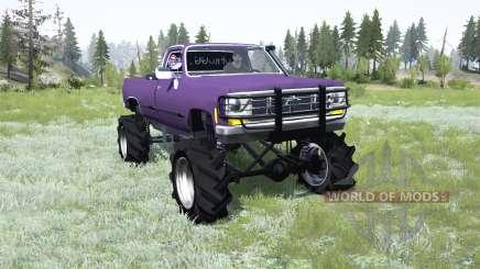 Chevrolet K20 1979 Square Body pour MudRunner