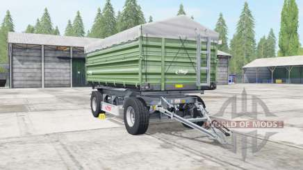 Fliegl DK 180-88 dark sea green für Farming Simulator 2017