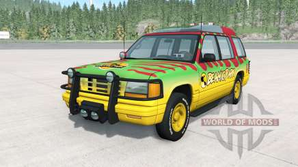 Gavril Roamer Tour Car Beamic Park v3.0 für BeamNG Drive