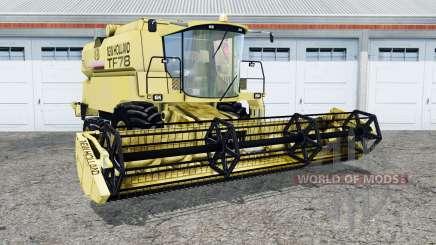 Nouveau Hollanɗ TF78 pour Farming Simulator 2015