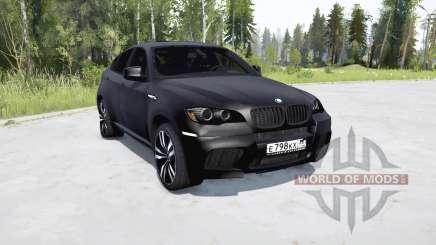 BMW X6 M (E71) für MudRunner