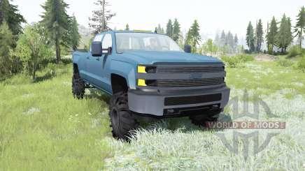 Chevrolet Silverado 3500 HD Crew Cab 2015 pour MudRunner