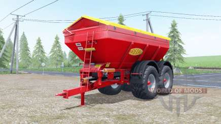 Bredal K165 increases spread pour Farming Simulator 2017