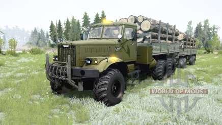 KrAZ-255B pour MudRunner