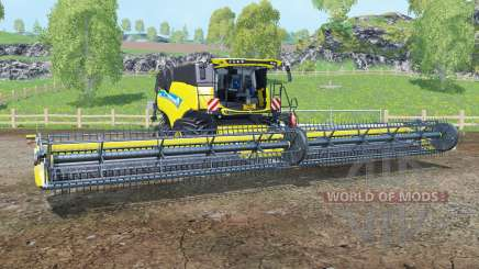 New Holland CR10.90 Titan ỿellow für Farming Simulator 2015