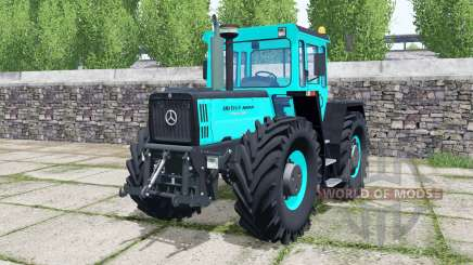 Mercedes-Benz Trac 1800 Intercooler turquoiʂe für Farming Simulator 2017