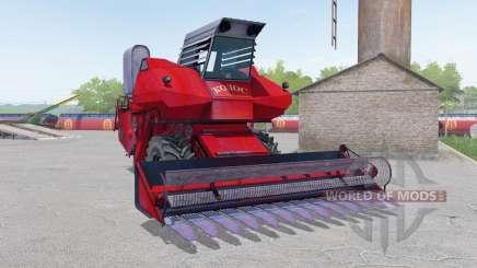 SK-6 Kolos couleur rouge pour Farming Simulator 2017