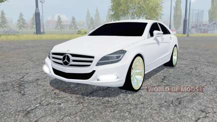 Mercedes-Benz CLS 350 CDI (C218) 2010 pour Farming Simulator 2013