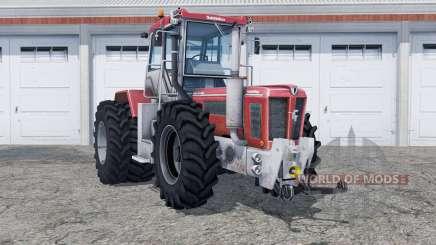 Schluter Super-Trac 2500 VL added rear wheels pour Farming Simulator 2013