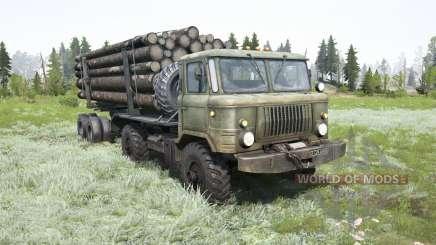 GAZ-66 pour MudRunner