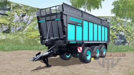 Joskin Drakkar 8600 blue and black für Farming Simulator 2017