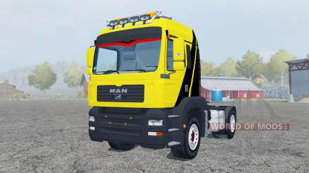 MAN TGM 4x4 tractor pour Farming Simulator 2013