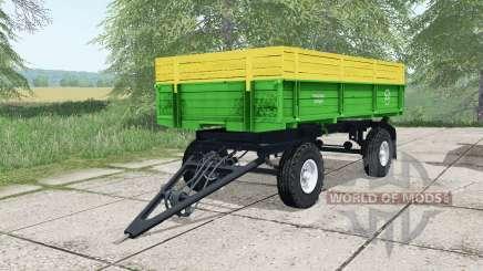 PTS-4 de couleur verte pour Farming Simulator 2017