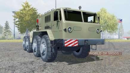 MAZ-537 8x8 für Farming Simulator 2013