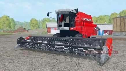 Massey Ferguson 34 with headers für Farming Simulator 2015