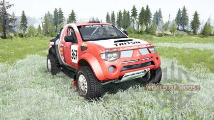 Mitsubishi L200 Triton Dakar pour MudRunner