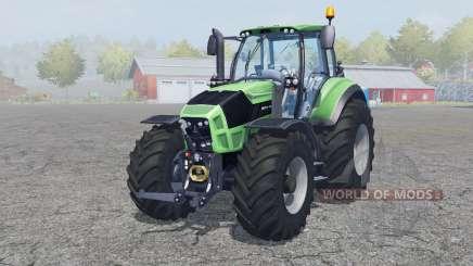 Deutz-Fahr Agrotron 7250 TTV front loader für Farming Simulator 2013