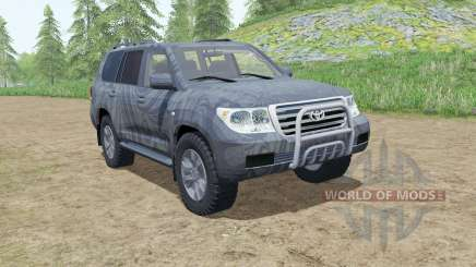 Toyota Land Cruiser 200 2007 pour Farming Simulator 2017