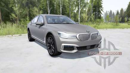 BMW M760i xDrive (G11) 2017 pour MudRunner